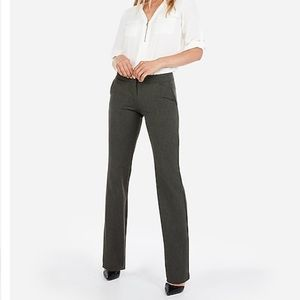 Express Columnist Barely Boot Mid Rise Pant